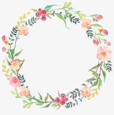 Drawing circular wreath Wreath, Round, Watercolor PNG Image and Clipart Watercolor Flower Wreath, Floral Watercolor, Watercolor Paintings, Frame Floral, Flower Frame, Corona Floral, Floral Border, Watercolor Background, Hand Lettering