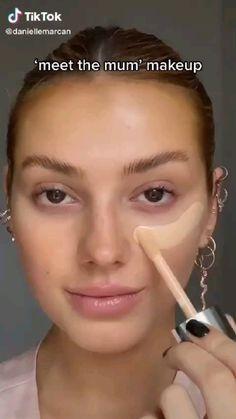 Edgy Makeup, Flawless Makeup, Makeup Art, Beauty Makeup, Baddie Makeup, Makeup Hacks, Contour Makeup, Skin Makeup, Doll Eye Makeup