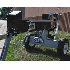 Pretty cool two way log splitter!  Fast cycle time and 20 tons of force.  GNE 11571