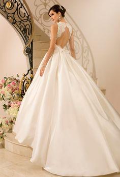 Detachable wedding dress on pinterest convertible for Stella york convertible wedding dress