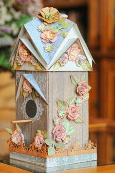 A Painterlady's View: Bird House Beauty ~ by Lisa Gregory GDT