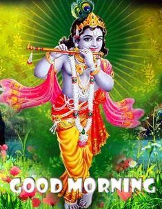 Krishna Leela, Jai Shree Krishna, Radha Krishna Photo, Krishna Photos, Radhe Krishna, Good Morning Images Hd, Morning Pictures, Lord Krishna Images, Hindu Art