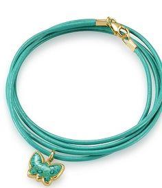 Turquoise Butterfly Bracelet By Adina Plastelina