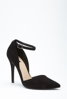 Faux Suede Pointed Pumps | FOREVER21 - 2000057849