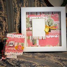 Pre-Crafted Scrapbook Frame & Mini Album -Scrapbook page hanya tinggal pasang foto. Menggunakan paper acid-free and free-lignin untuk menjaga kualitas produk yang bisa bertahan puluhan tahun. Cocok untuk memorabilia tumbuh kembang sang buah hati ataupun hadiah untuk keluarga/kerabat yang baru saja melahirkan.