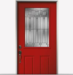 Encompass by Pella 1/2 Light fiberglass entry door with Madeira glass. Visit us on Facebook to choose an energy-efficient entry door that best suits you: http://on.fb.me/O8a46D.