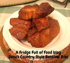 Boneless country ribs w/Steven Raichlan rub. So good. a Fridge Full of Food blog