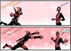 deadpool x spiderman fanfiction - Google Search
