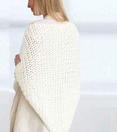 Crochet a cozy prayer shawl to keep warm this winter!