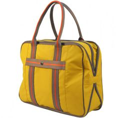 lga carry-on bag yellow