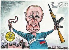 Боевой путь ФСБ в Украине Сейчас в Украине идут споры о том, какую политическую партию надо запретить. Самым правильным решением для Украины будет запретить на своей территории деятельность ФСБ России, иначе покоя Украине не видать