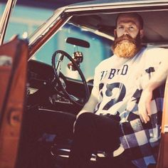 retro beard drive