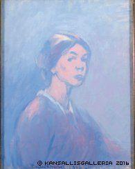 ellen thesleff - Self-Portrait, 1916 Roland Barthes, Female Painters, Mona Lisa, Artwork, Finland, Fictional Characters, Selfies, Image, Portraits