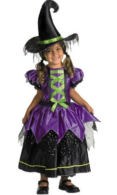 kidwitchcostumes kids magical witch costume 3189 - Witch Pictures For Kids