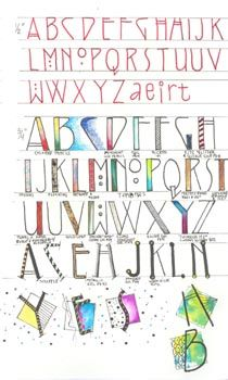 """Classes with Yogi - Lettering Class #1"""""""