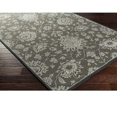 Hand Tufted Prance Wool Rug (4' x 6') (Forest Green), Size 4' x 6'