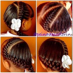 Seguimos de #peinados para ir al colegio en #colorin #peluqueria #bellas #trenzas #braids #braid #braidsforgirls #girls #girl #hair #hairstyle #hairstyles
