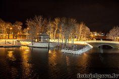 Jelgava ziemas sākums