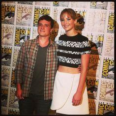 Josh and Jen at SDCC!!!