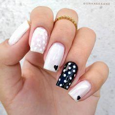 Classy Nails, Stylish Nails, Cute Nails, Pretty Nails, Valentine's Day Nail Designs, Nail Art Designs Videos, Acrylic Nail Designs, Joy Nails, Beauty Nails