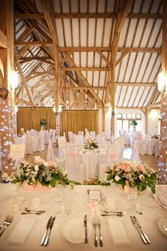 Pretty in pink at Rivervale Barn