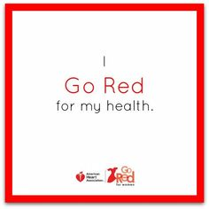 If youre living with heart disease, know that youre not alone. Make a pledge to Go Red and spread the word about your health. #GoRed