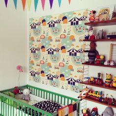 vintage look in a small nursery