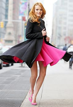 Bella Thorne gave it a spin leaving her hotel in NYC March 26.
