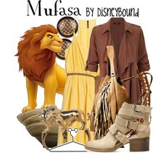 Mufasa, created by leslieakay on Polyvore