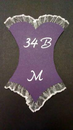 Bachelorette Party/Lingerie Shower Invitation Inserts... cute idea.