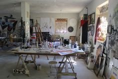 CHICAGO — The 80th installment of a series in which artists send in a photo and a description of their workspace. Want to take part? Submit your studio — just check out the submission guidelines.-- Easam Darawshi, Nazareth, Israel
