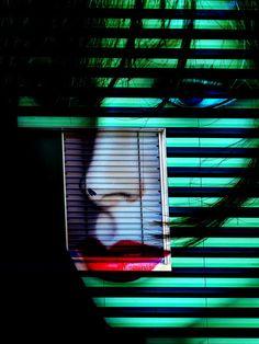'Behind the window' von Gabi Hampe bei artflakes.com als Poster oder Kunstdruck $23.56