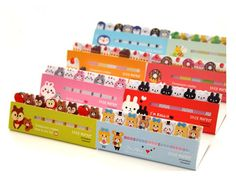 Free Shipping!!  New cute animals stick marker / memo note pad / many designs/ label / korea style / Wholesale