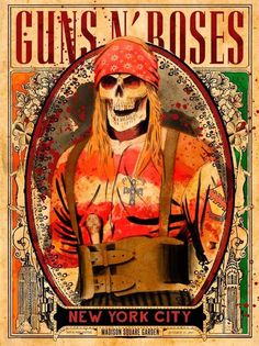 Guns N Roses, Tour Posters, Band Posters, Pink Floyd, Rock N Roll, Axl Rose, Rock Legends, Classic Rock, Rock Music
