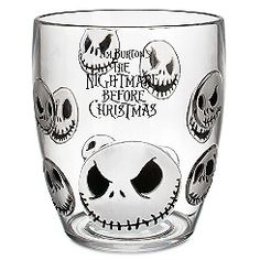 New The Nightmare Before Christmas Aluminum Jack Skellington Water ...