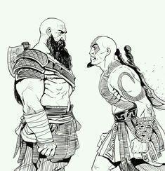 God of War,Игры,God of War арт,game art Kratos God Of War, Video Game Art, Video Games, Fan Art, Geek Culture, Game Character, Fantasy Characters, Mythology, Comic Art