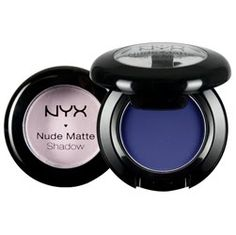 Nyx matte eyeshadow in Betrayal is a perfect dark deep brown.