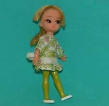 Hasbro SUGAR and SPICE Dolly Darling Doll outfit Vintage liddle kiddle era NICE!