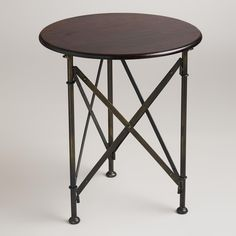 Walker Campaign Accent Table | World Market