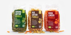 À la eco fusilli — The Dieline - Branding & Packaging