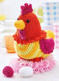 Resultado de imagem para free chicken crochet pattern