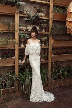 Pretty to be amazed! Designer Julie Vino just launched a lower-priced wedding dress collection.