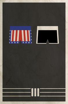 Rocky III  Minimalist Poster by Matt Owen