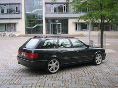 Black Audi 80 S2 Avant 3
