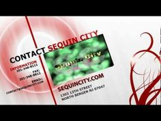 WE MAKE FASHION, YOU WEAR IT! SequinCity.com  #SequinCity Video's designed by EricLSpencer.com #EricLSpencer