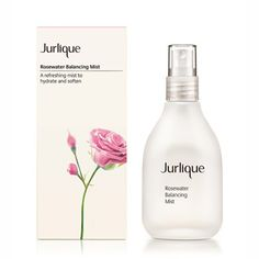 Rosewater Balancing Mist: a daily hydrating mist for normal to combination skin with the scent of roses that restores and hydrates the complexion. All Natural Skin Care, Organic Skin Care, Natural Face, Natural Beauty, Skin Care Center, Jurlique, Toner For Face, Face Mist, Cruelty Free Makeup