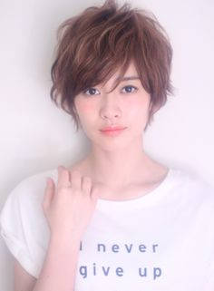 エアリーエレガントショート 【coo et fuu】 http://beautynavi.woman.excite.co.jp/salon/25314?pint ≪ #shorthair #shortstyle #shorthairstyle #hairstyle・ショート・ヘアスタイル・髪形・髪型≫