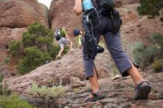 While hiking can be fun and adventurous, it also is physically demanding and requires you to be in good shape. Depending on your current fitness level and the hike's difficulty, you will want to give yourself anywhere between two to eight weeks to prepare your body for hiking. Hikes that are longer in length and more difficult in terms of steepness...