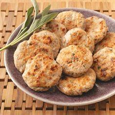 Sage Turkey Sausage Patties - Taste of Home Healthy Cooking
