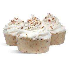 SOAP RECIPE: Pumpkin Spice Latte Cupcake Soap. Create a coffee exfoliating soap with this recipe.